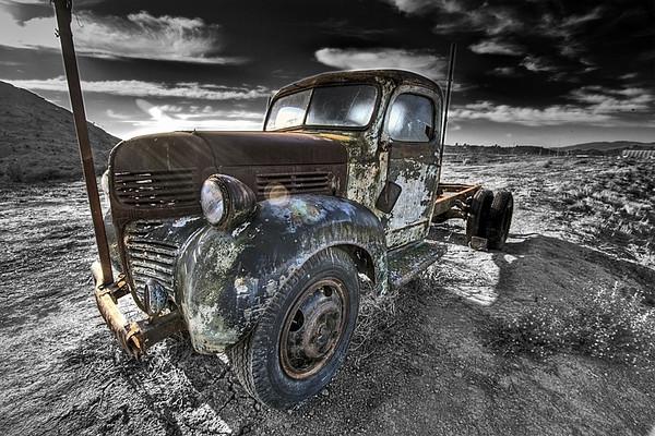 Abandoned Dodge Truck