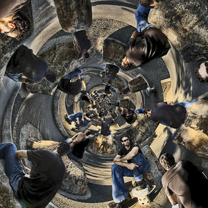 Stereographic Sitting Suckers